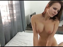 amazing stepsister with big tits agreed for creampie
