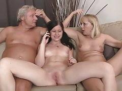 SBA A Threesome Her Boyfriends Parents !
