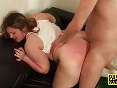 Bound sub gets tits wam
