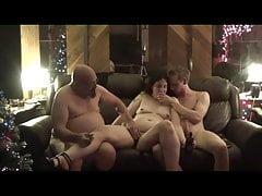 Tisha's Christmas Threesome