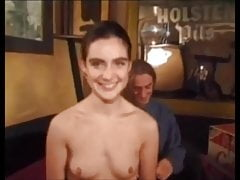 Casting Brittish Penny got horny and fucked