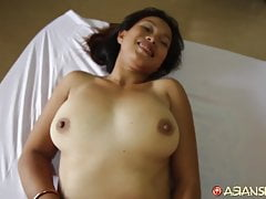 Asian Sex Diary - White dude creampies random Asian MILF