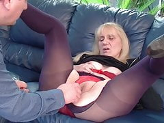 NANNEY chubby anal mature granny