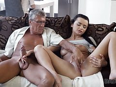 DADDY4K. Erica will never forget hot sex with dad of her boy
