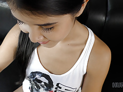 HUNT4K. Young cuckold watches how his beautiful GF makes mon