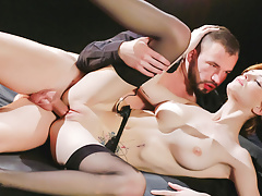 LETSDOEIT - Hot Fantasy Anal Sex with Big Natural Tits Babe