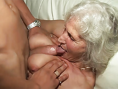 76 years old granny rough fucked