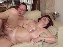 MILF and granny fuck young boys