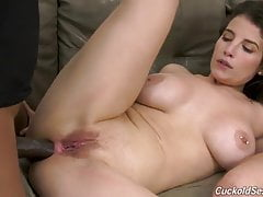 Phat Ass Latina Cuckolds Husband