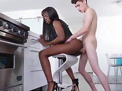 Cum in Amazing Ebony