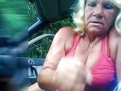 Granny sucks cock e3